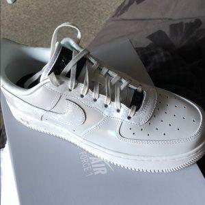 finest selection 805d7 e6e89 Nike Shoes | Air Force 1 07 Lux Wsummit White Black | Poshmark
